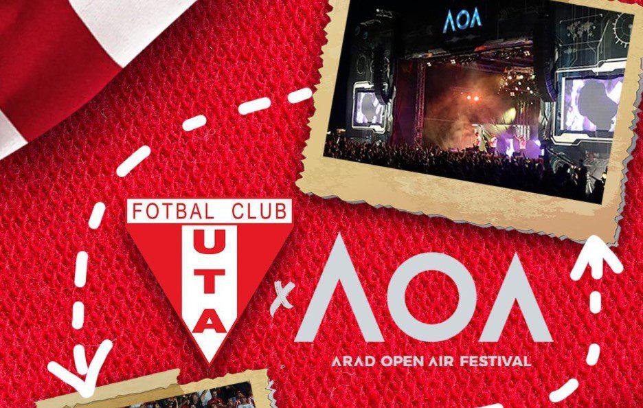 Brățările de la meciul UTA-ei cu Craiova sunt valabile și la Arad Open Air Festival și invers! Testele antigen trebuie făcute zilnic în cazul festivalului de muzică!!