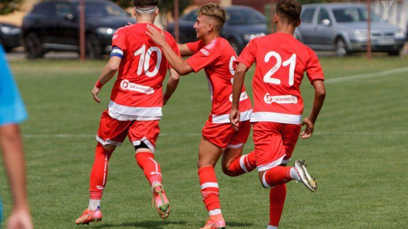 """UTA U 17 a salvat weekendul """"roș-albilor"""" în Liga Elitelor: Pașcalău a reușit o """"triplă"""" și e curtat insistent de Crișul!"""