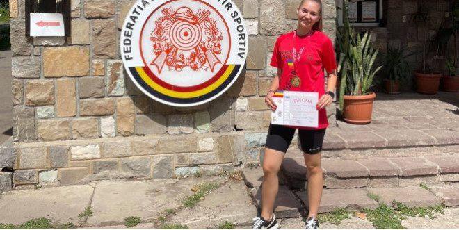 Talerista Briana Vărcuş este campioană naţională de junioare I!