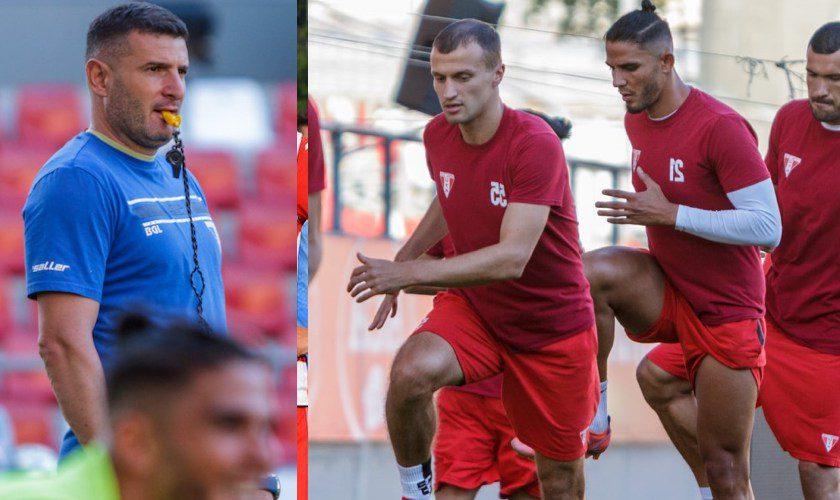 """UTA – Rapid, """"un meci special"""" ce bagă la apă arena """"Francisc Neuman""""! Balint: """"Să ne facem suporterii fericiți la final!"""""""