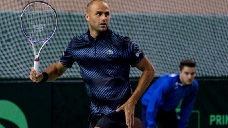 Arădeanul Marius Copil a adus singurul punct al României în meciul de Cupa Davis cu Portugalia