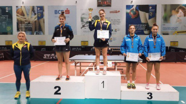 Alesia Sferlea a cucerit argintul la Top 16 junioare II, Cristi Dodean – cu copiii în cantonament la Krupanj