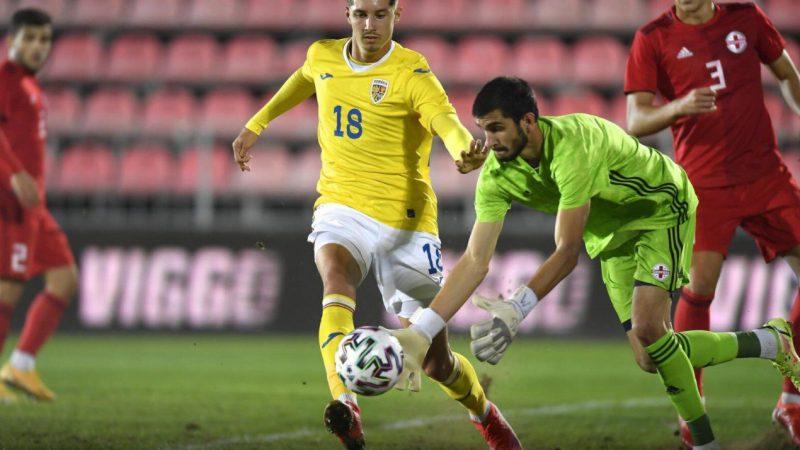 """David Miculescu – 81 de minute pe teren pentru """"tricolorii mici"""" contra Georgiei, Vukcevic – """"odihnit"""" pentru Rapid!"""