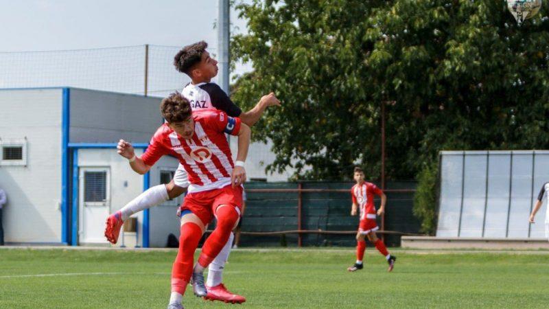 Juniorii UTA-ei au jucat trei reprize în restanțele cu Gazul, doar una a fost câștigătoare!