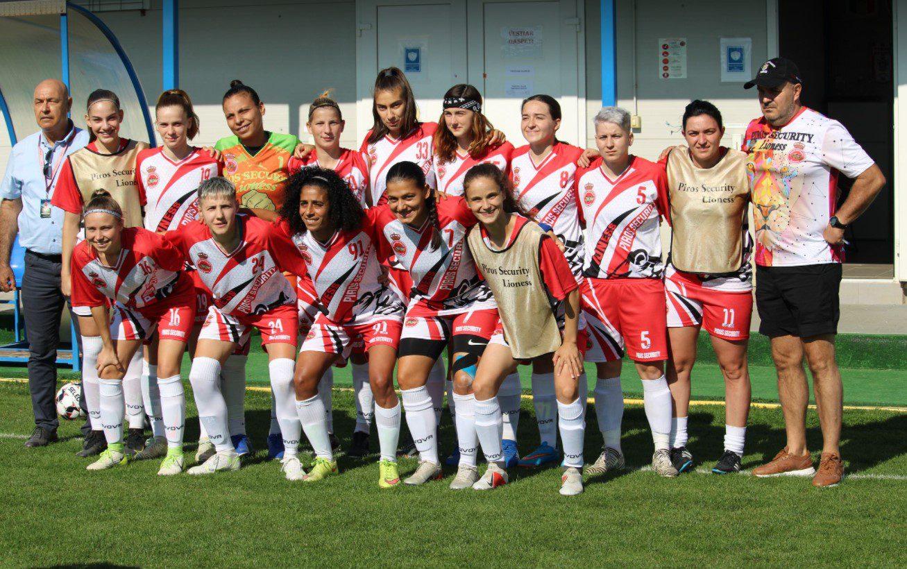Egipteanca Salva a făcut diferența încă de la debut: AC Piroș Security – ACS Fotbal Feminin Baia Mare 4-0