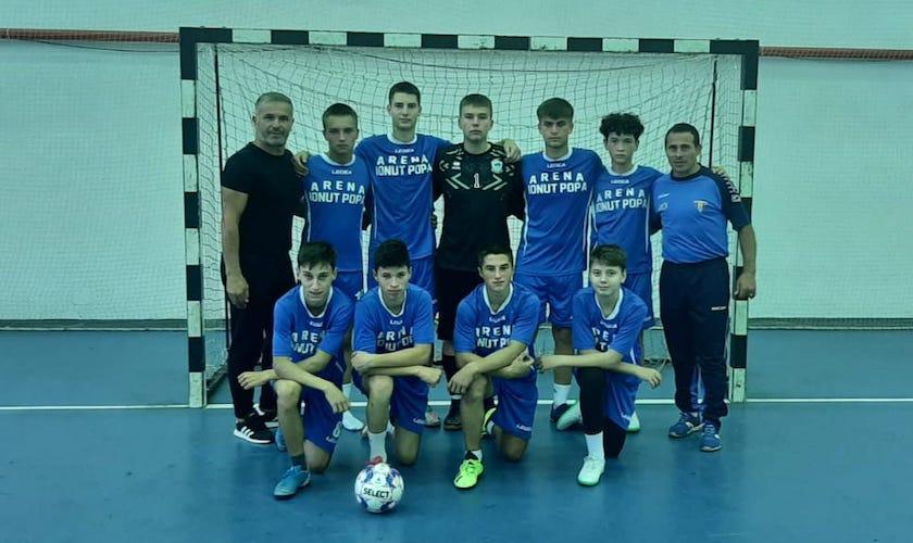 """Șimandul a debutat cu o remiză în campionatul juniorilor U19, """"șoimii"""" vor să-și inaugureze noua sala cu ocazia primului turneu din Liga 2-a!"""