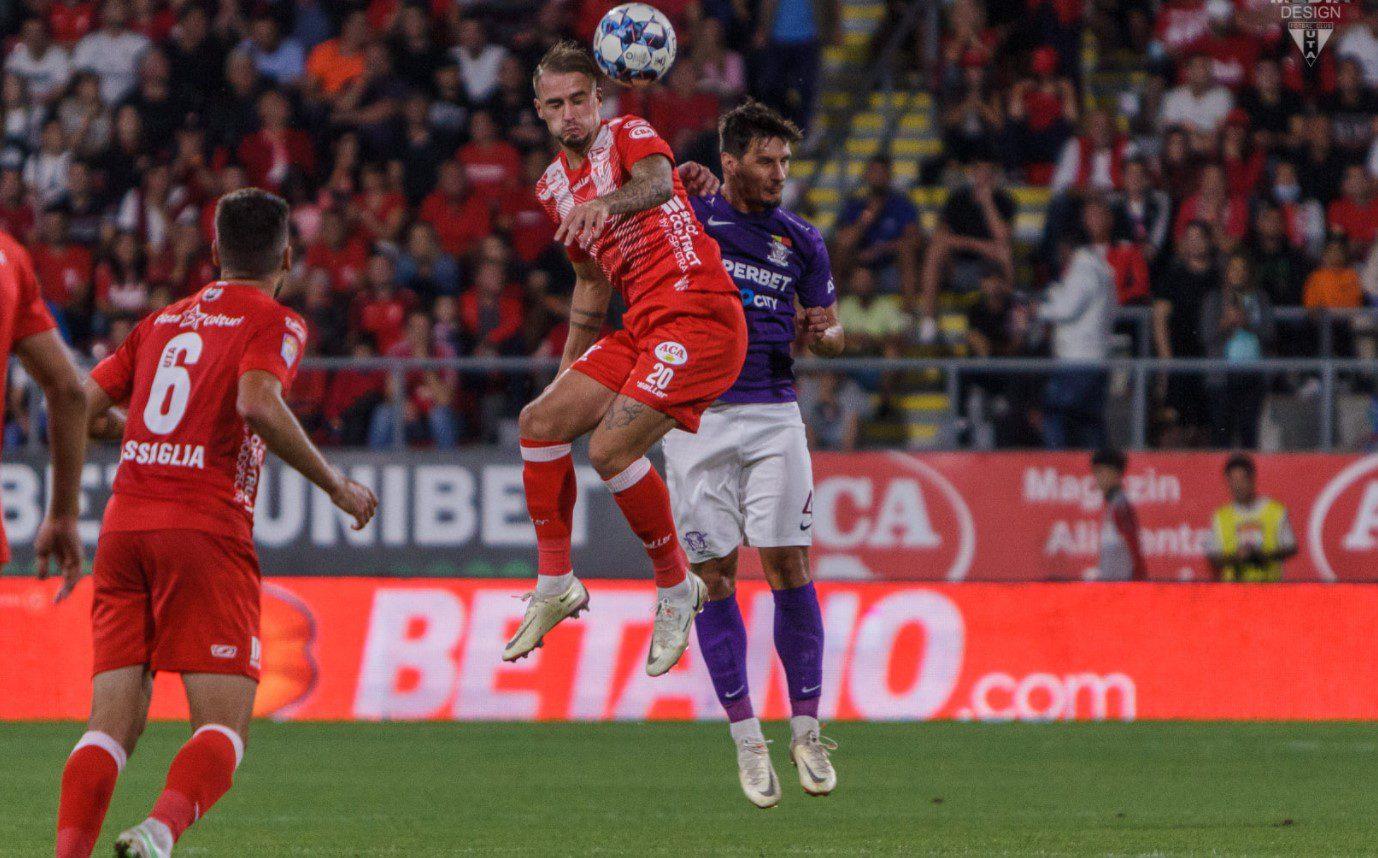 """Absența lui Miculescu a stricat planul tactic al lui Balint: """"Desley Ubbink dă randament mai bun în zonă centrală, dar Isac se va adapta și el"""""""