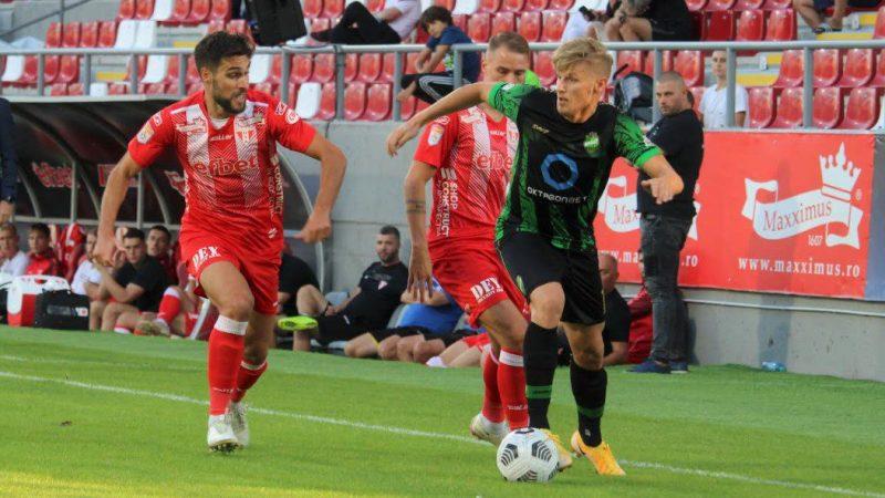 Repetiție palidă cu Rapidul, la primul meci internațional în noua casă: UTA – Kolubara Lazarevac 0-0