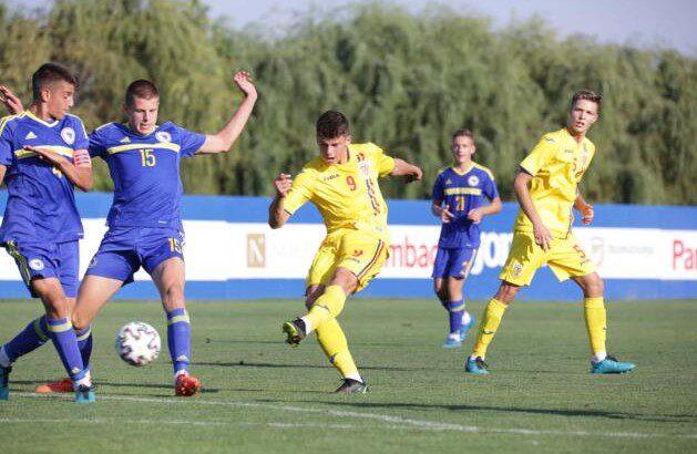 Utistul Vermeșan a marcat în succesul României Under 16 în fața Bosniei-Herțegovina