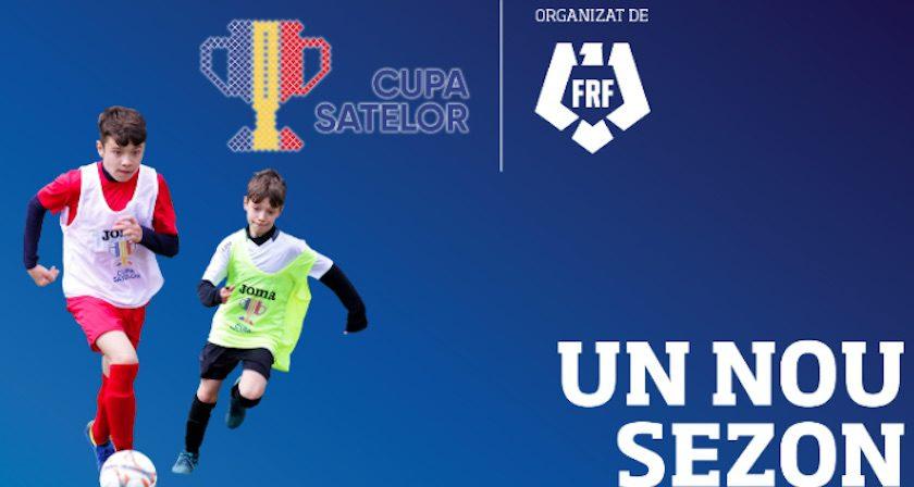 Încă 4 zile de înscriere la Cupa Satelor la fotbal, rezervată copiilor sub 13 ani