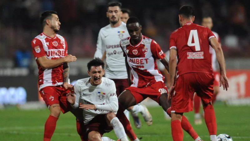 Liga I, etapa a 13-a: Dinamo și Mioveni ratează victoria în prelungiri! FC Argeș trece de UTA, dar arădenii pot urca în play-off la finele rundei!