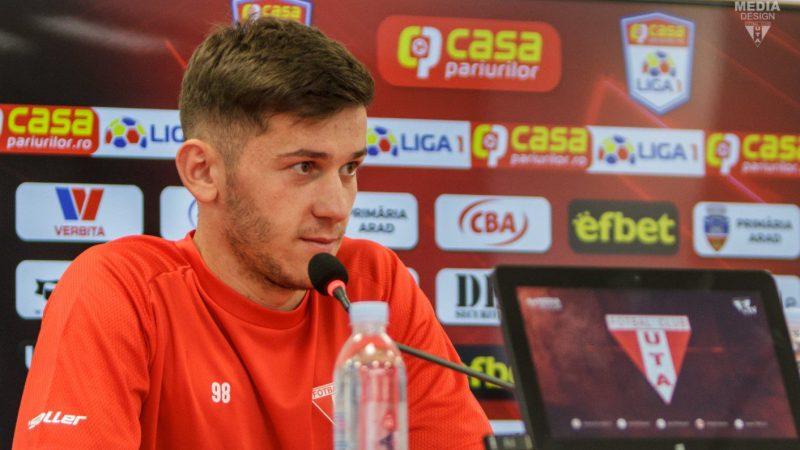 """Isac vrea să meargă la naționala de tineret cu punctele cu Dinamo în buzunar: """"Să marcăm un gol mai mult decât adversarul!"""""""