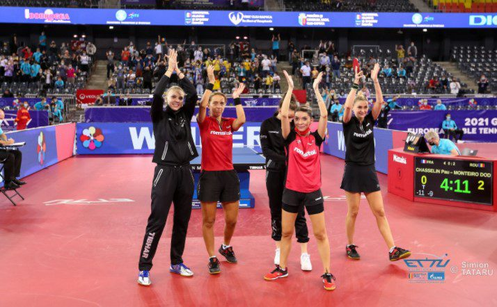 Daniela Dodean se retrage în glorie de la naţionala de tenis de masă, cu titlul de vicecampioană europeană pe echipe!