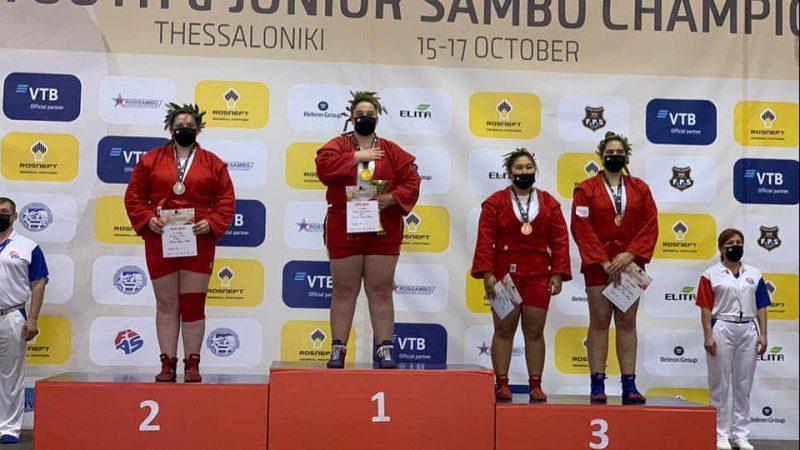 Bianca Prodan e noua campioană mondială de juniori la sambo!