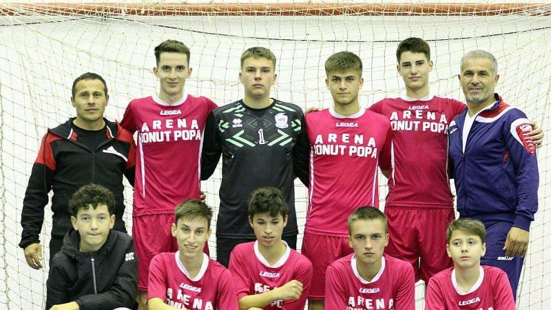 Șimandul a făcut instrucție cu Deva și a câștigat seria a IV-a a campionatului U19 de futsal!