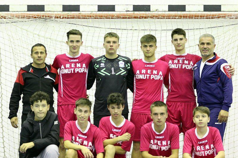 Juniorii Șimandului au trecut de Clujana și conduc seria a 4-a a Campionatului Național de Futsal!