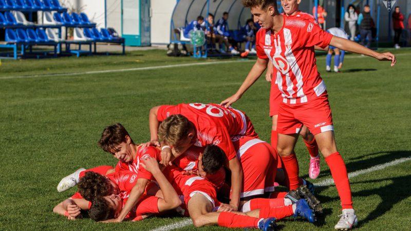 """Juniorii mari ai Academiei UTA au mai salvat weekendul """"roș-alb"""" în Liga Elitelor! Atletico și-a adjudecat clar derby-ul arădean!"""