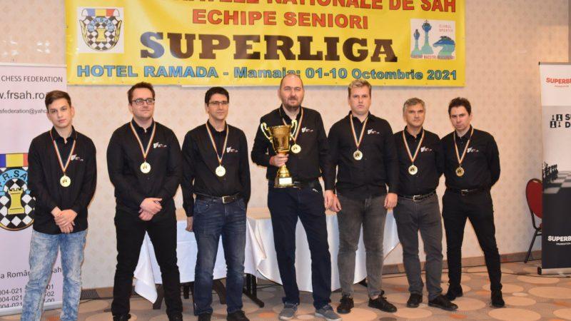 Echipa celor de la Șah Club Vados a câștigat în premieră titlul național!